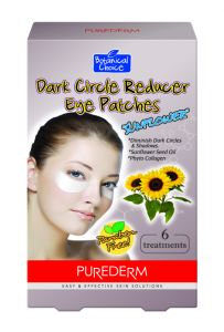 "Purederm Dark Circle Reducer Eye Patches""Sun Flower Seed Oil"""
