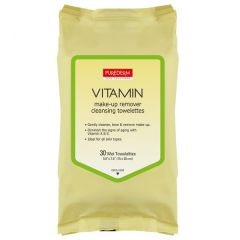 Purederm Vitamin Make-up Remover Cleansing Towelettes