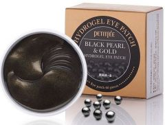 Petitfee Black Pearl & Gold Hydrogel Eye Patch (60pcs)