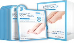 Double & Zero Double Special Care Foot Mask (10pac)