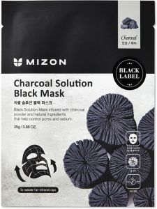 Mizon Charcoal Solution Black Mask (25mL)