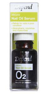 Depend O2 Argan Nail Oil Serum (10mL)