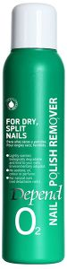Depend O2 Nailpolish Remover for Dry, Split Nails (100mL)