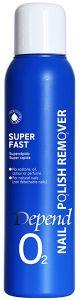 Depend O2 Nailpolish Remover Super Fast (100mL)