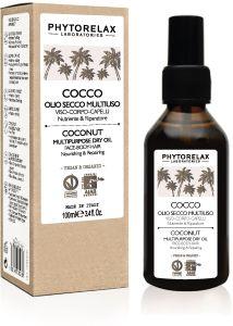 Phytorelax Coconut Multipurpose Dry Oil Face-Body-Hair (100mL)
