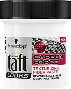 Taft Fiber Paste Carbon Force Look (130mL)