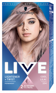 Schwarzkopf Live Ultra Bright or Pastel 104 Cool Lilac