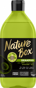 Nature Box Shampoo Avocado (385mL)
