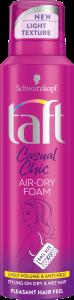 Taft Casual Chic Air Dry Foam (150mL)