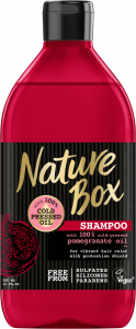 Nature Box Pomegranate Shampoo (385mL)