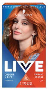 Schwarzkopf Live Color+lift L74 Vibrant Orange