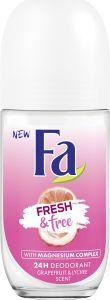 Fa Deodorant Roll-on Fresh & Free Grapefruit & Lychee (50mL)