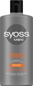 Syoss Shampoo Men Power&Strenght (440mL)