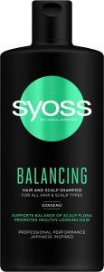 Syoss Shampoo Balancing (440mL)