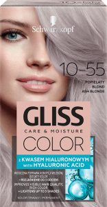 Schwarzkopf Gliss Color 10-55 Ash Blonde