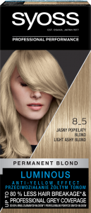 Syoss Color 8-5 Light Ashy Blond