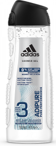 Adidas Adipure Men 3in1 Shower Gel (250mL)