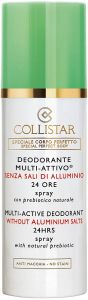 Collistar Multi Active Deodorant 24H Without Aluminium Salts (100mL)