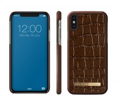 iDeal of Sweden Fashion Case iPhone X/Xs Brown Croco