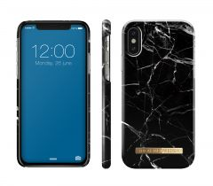 iDeal of Sweden Fashion Case iPhone X/Xs Black Marble