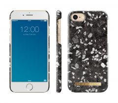 iDeal of Sweden Fashion Case iPhone 8/7/SE (2020) Midnight Terrazzo