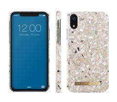 iDeal of Sweden Fashion Case iPhone XR Greige Terrazzo