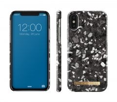 iDeal of Sweden Fashion Case iPhone X/XS Midnight Terrazzo
