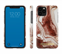 iDeal of Sweden Fashion Case iPhone 11 Pro Golden Rusty Marble