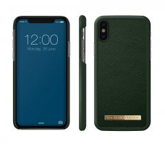 iDeal of Sweden Fashion Case Saffiano iPhone X/XS Green