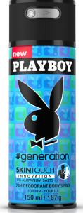 Playboy #Generation For Him Deospray (150mL)