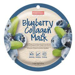 Purederm Blueberry Collagen Mask (18g)
