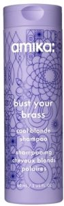 Amika Bust Your Brass Cool Blonde Shampoo (60mL)