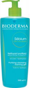 Bioderma Sebium Gel Moussant Purifying Cleansing Foaming Gel (500mL)