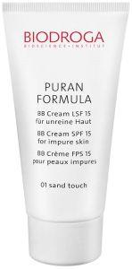 Biodroga Puran Formula BB Cream SPF15 Impure Skin