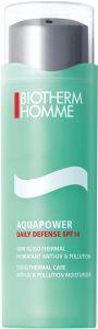 Biotherm Homme Aquapower Daily Defense SPF14 Gel-Cream (75mL)