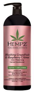 Hempz Blushing Grapefruit & Rasberry Crème Conditioner (1000mL)
