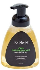 BonMerité Extra Gentle Cleansing Foam for Hands Peppermint (300mL)