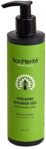 BonMerité Organic Shower Gel Refreshing Lime
