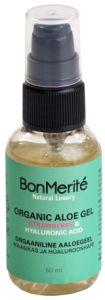 BonMerité Orgaaniline Aaloegeel Maasikas ja Hüaluroonhape (50mL)