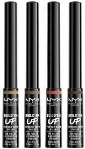 NYX Professional Makeup Build 'Em Up Powder Brow Filler (1,2g)