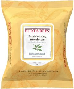 Burt's Bees Facial Cleansing Towelettes with White Tea Extract (30psc) Normal Skin
