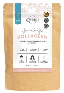 """Boost Yourself """"You are Beautiful"""" Collagen with Aroon and Goji Berry (150g)"""