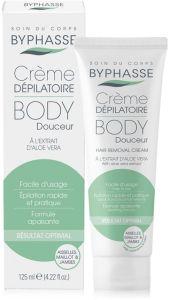 Byphasse Hair Removal Cream Aloe Vera (125mL)