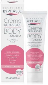 Byphasse Hair Removal Cream Silk Extract (125mL)