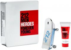 Carolina Herrera 212 Heroes EDT (90mL) + SG (100mL)