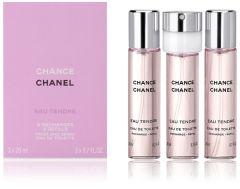 Chanel Chance Eau Tendre EDT (3x20mL) Refill