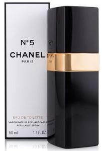 Chanel No5 EDT (50mL) refillable spray