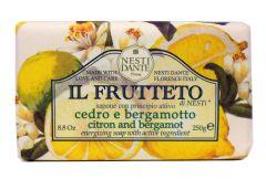Nesti Dante Soap Il Frutetto Citron & Bergamot (250g)