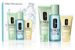 Clinique 3-step Skin Care System 4 for Oily Skin