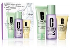 Clinique 3-step Skin Care System 2 for Dry Combination Skin